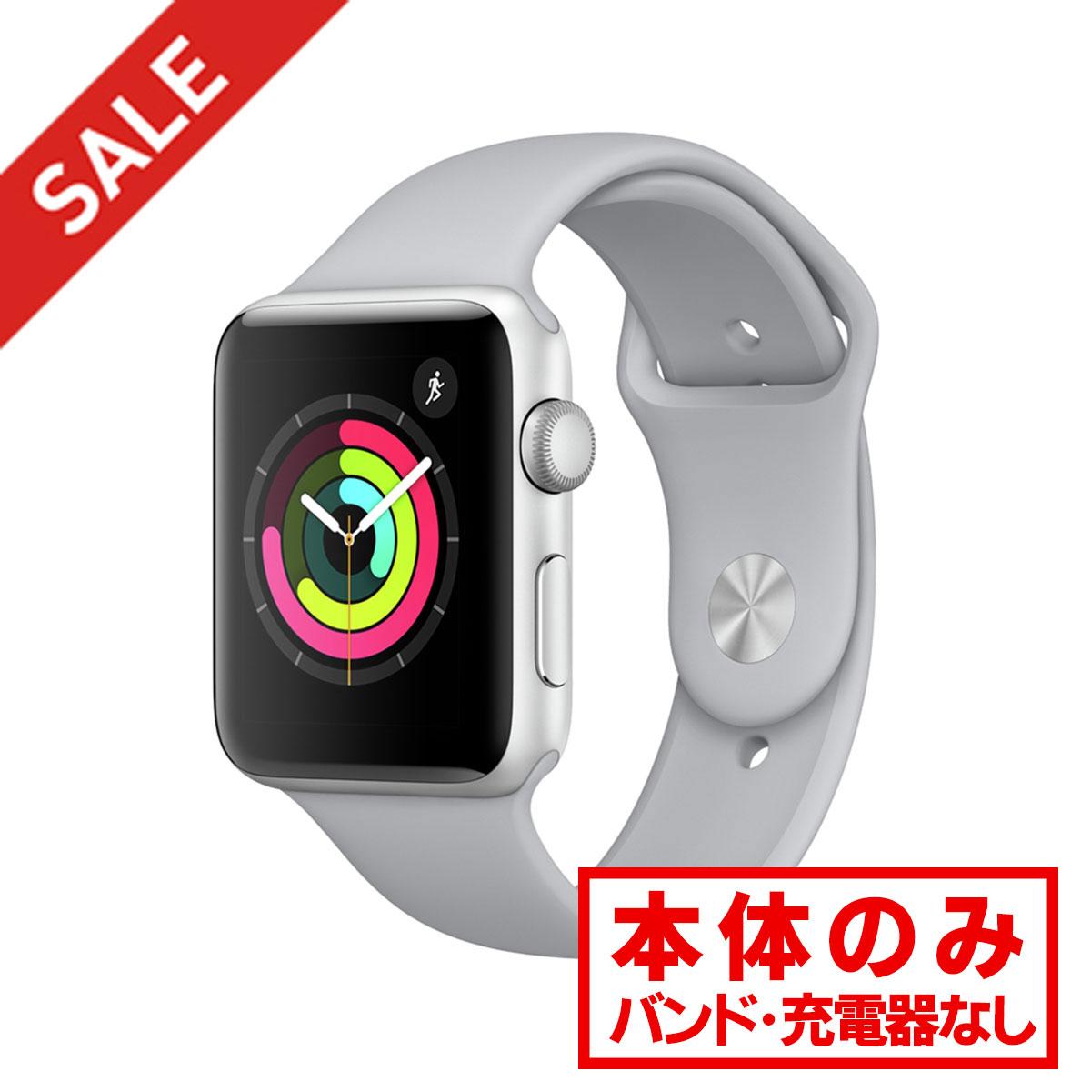 アップルウォッチ 本体 Apple Watch Nike+ Series 3 GPSモデル 38mm アルミニウム [シルバー] MQKX2J/A